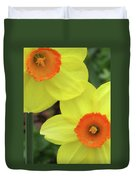 Dallas Daffodils 36 Duvet Cover