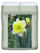Dallas Daffodils 64 Duvet Cover