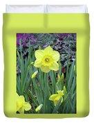 Dallas Daffodils 83 Duvet Cover