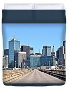 Dallas In The Rear View Duvet Cover