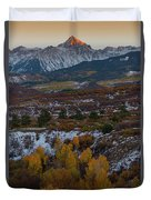 Dallas Peak II Duvet Cover by Gary Lengyel