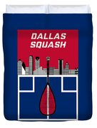 Dallas Squash T-shirt-1 Duvet Cover