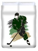 Dallas Stars Player Shirt Duvet Cover