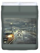 Dallas Traffic Duvet Cover