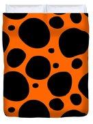 Dalmatian  Black Pattern 03-p0173 Duvet Cover