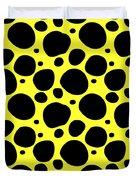 Dalmatian  Black Pattern 05-p0173 Duvet Cover
