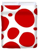 Dalmatian Pattern With A White Background 02-p0173 Duvet Cover