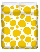 Dalmatian Pattern With A White Background 05-p0173 Duvet Cover
