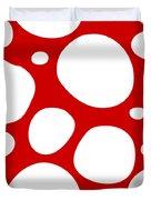 Dalmatian  White Pattern 02-p0173 Duvet Cover