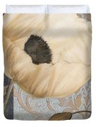 Damask Poppy Duvet Cover