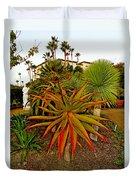 Dana Point Garden  Duvet Cover