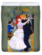 Dance At Bougival After Renoir Duvet Cover