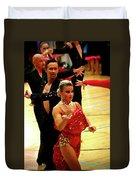 Dance Contest Nr 04 Duvet Cover