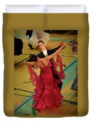 Dance Contest Nr 15 Duvet Cover
