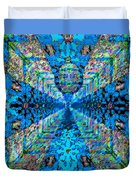 Dance Hall Mirrors No. 2 Duvet Cover