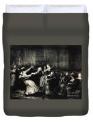 Dance In A Madhouse Duvet Cover