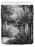 Dance Me To The End Of Love Bw Duvet Cover