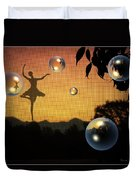 Dance Of A New Day Duvet Cover