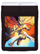 Dance Of Shiva Duvet Cover