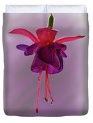 Dance Of The Fuschia Duvet Cover