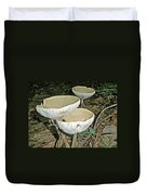 Dance Of The Mushrooms Duvet Cover