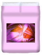 Dance Of The Peony  Duvet Cover