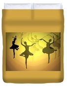 Dance With Us Into The Light Duvet Cover