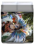Dancer Day Of The Dead II Duvet Cover