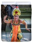 Dancer Of Bali Duvet Cover