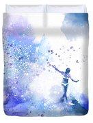 Dancer On Water 1 Duvet Cover