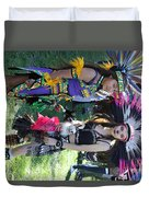 Dancers Day Of The Dead  Duvet Cover