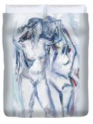 Dancers Duvet Cover