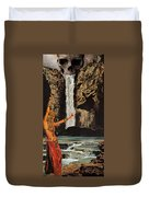 Dances With Death Duvet Cover