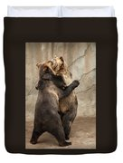 Dancing Bears Duvet Cover