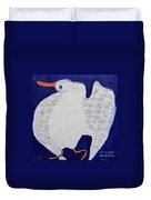Dancing Bird Duvet Cover