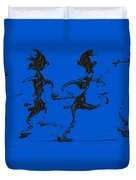 Dancing Couple 3 Duvet Cover by Manuel Sueess