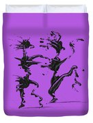 Dancing Couple 4 Duvet Cover by Manuel Sueess