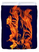 Dancing Fire I Duvet Cover