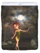 Dancing In The Moonlight Duvet Cover