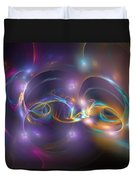 Dancing Light Duvet Cover