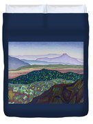 Dancing Light Of Northern New Mexico Duvet Cover
