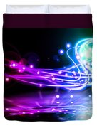 Dancing Lights Duvet Cover
