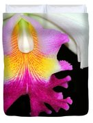 Dancing Orchid Duvet Cover