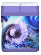 Dancing Water Iv Duvet Cover