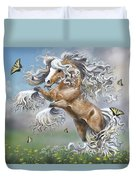 Dancing With Butterflies Duvet Cover