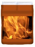 Dancing With Fire Duvet Cover