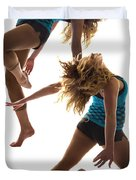 Dancing With Myself Duvet Cover