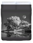 Dancing With The Moon Duvet Cover