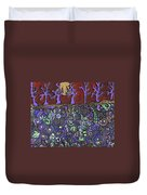 Dancing With The Trees Duvet Cover