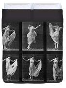 Dancing Woman Duvet Cover